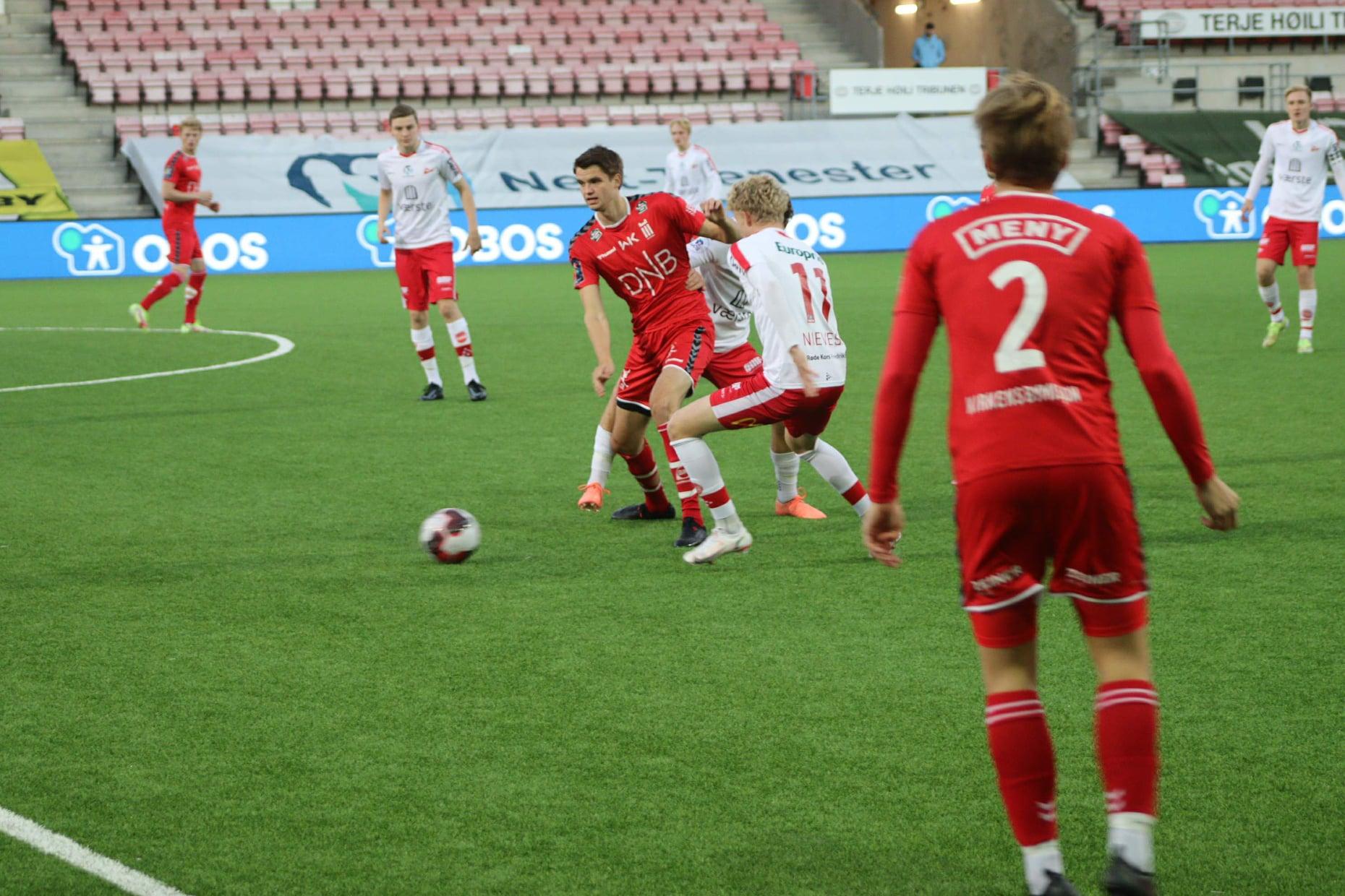 Tabelltopp etter uavgjort i Fredrikstad